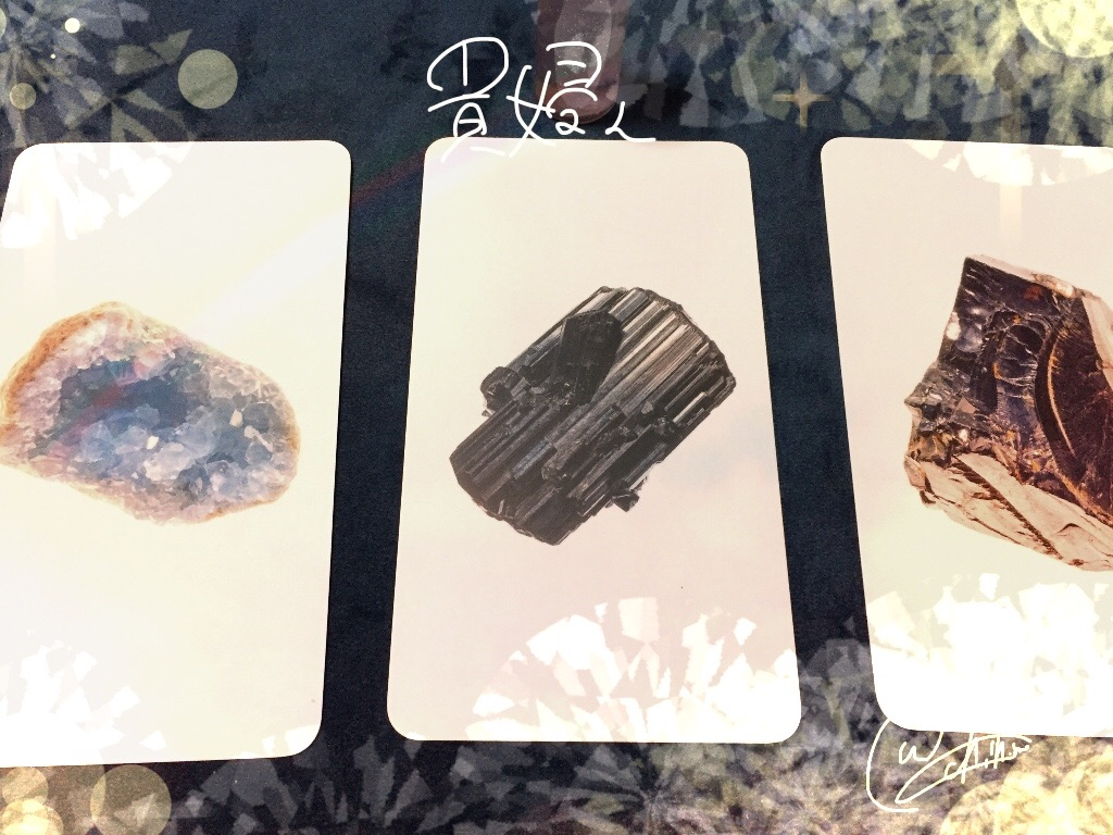鉱石のオラクルカードでラッキーカラー