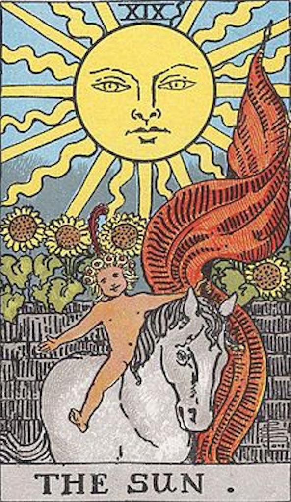 タロット太陽