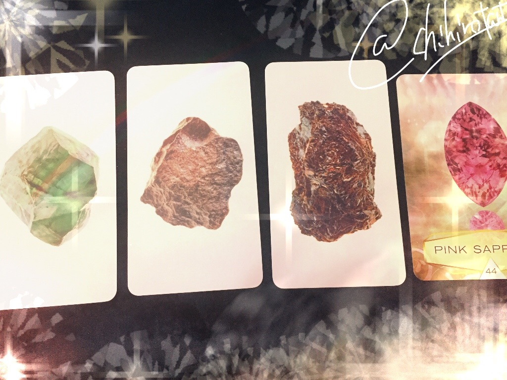 鉱石のオラクルカード