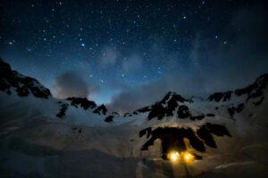 星座と神秘的な写真