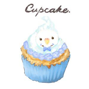 カップケーキイラスト